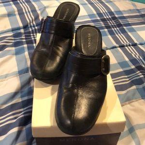 Black casual slip on